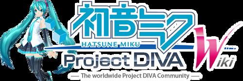 Project DIVA Wiki Logo v13 - Miku V3 HQ by olivaaa