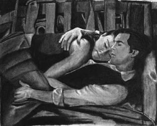 Kaylee and Simon cuddle by arwenpandora