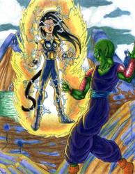 Arashiko vs Piccolo-ladydove7 by dragonballdeviants
