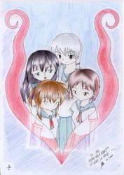 The Four Sisters by Afuredasu
