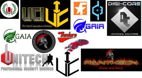 Corprate logos of Quadrant by git777