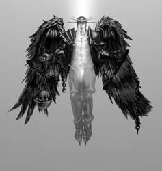 Watcher Angel by git777