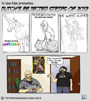 Rejected Strips of 2012 by Dutch-DeVries