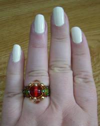 Bead Ring 2 by TephraLynn