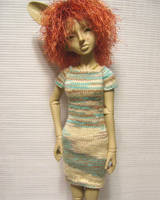 Beachy T-dress by TephraLynn