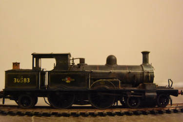 Adams raidial locomotive  by carlosthebadman