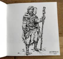 Inktober day 24: Blind! by Jordy-Knoop