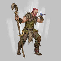 RPG Class Challenge: Druid by Jordy-Knoop