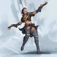 RPG Class day 02: Gunslinger by Jordy-Knoop
