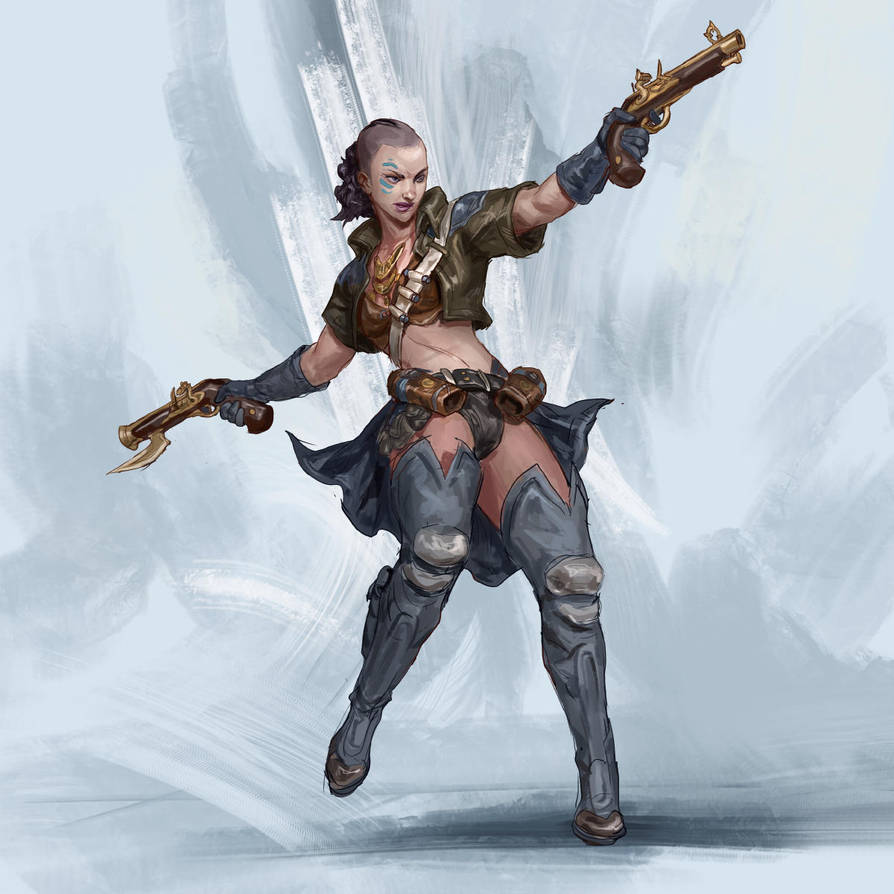 RPG Class day 02: Gunslinger by Jordy-Knoop
