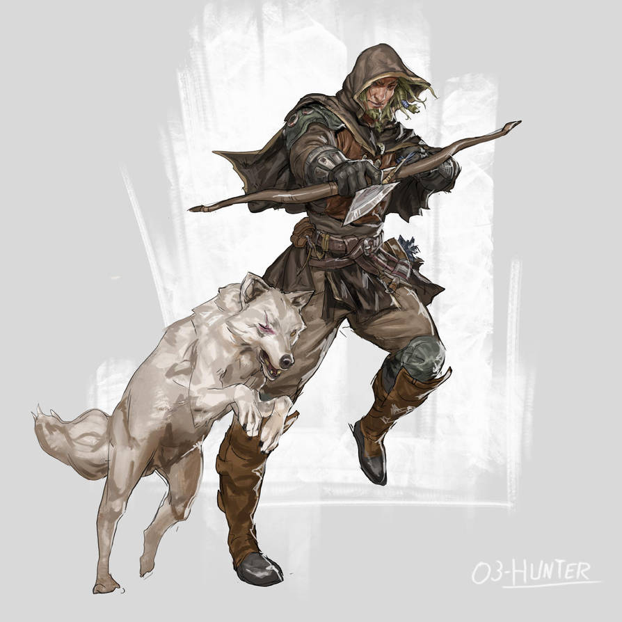 RPG Class day 03:The Hunter by Jordy-Knoop
