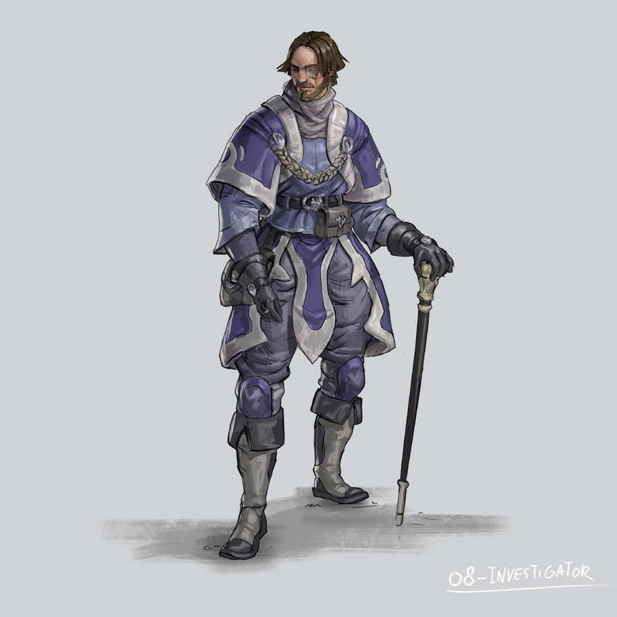 RPG Class day 08: Investigator. by Jordy-Knoop