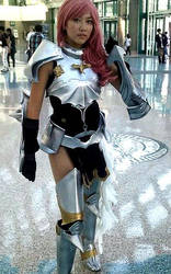 Final Fantasy Lightning armor by agfrx7