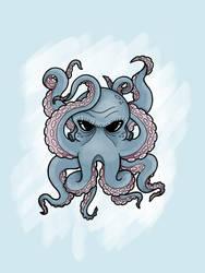 Octopus by jaderubini