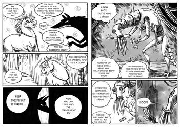 The beast of the salt mine page 63-64 by Szacsi