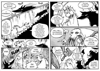 The beast of the salt mine page 77-78 by Szacsi