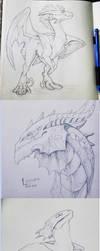 sketchdump by CaptainRey