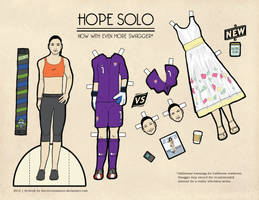 Hope Solo Paper Dolls by hercircumstance