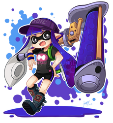 Inkling [02] by SandraGH