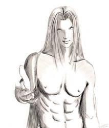 Sephiroth by Pookystar
