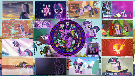 Twilight Sparkle Stained Wallpapers by GT4tube