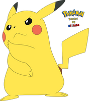 Pikachu #025 Z Alola - Vector by GT4tube