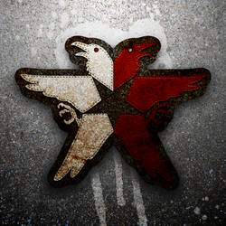 InFamous: Second Son Eagle Patch by Trindave