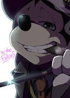NewYorkHalloweenFollies's Mickey by hentaib2319