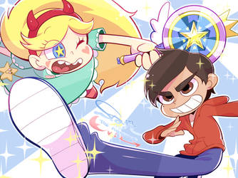 Star vs the forces of evil by hentaib2319
