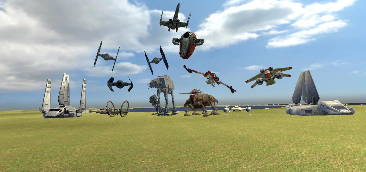 Gmod Star Wars Vehicles Wallpaper By Flameleaf25