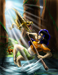 Kalwa Chapter 11 Art by GreenRaptor15