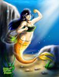 Kalwa, Mermaid Adventurer by GreenRaptor15
