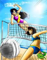 Kalwa Summer- Kalwa vs Ella by GreenRaptor15