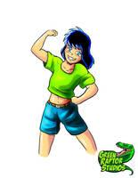 10 Year Old Kalwa by GreenRaptor15