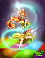 Dancing Sun by GreenRaptor15