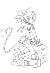 Etna and Prinnies!! by Nagaoka-K-project