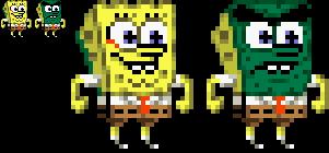 Spongebob Squarepants Abrasive Side Sprite By Noobguy519 On Deviantart