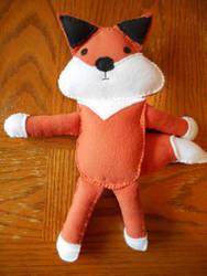 Detroit Fox Plush by kadajs-kitsune