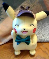 Detective Pikachu Plush by kadajs-kitsune