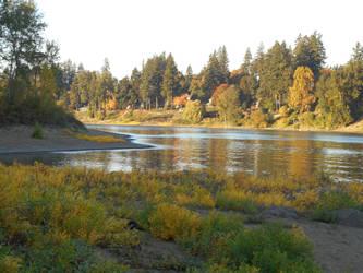 River Shore by kadajs-kitsune