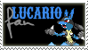 SSB: Lucario Fan by EerieBean