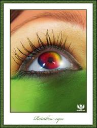 Rainbow Eyes by ArtOfPedL