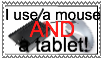 Mouse and tablet user stamp by Inkling-trash