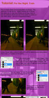 Tutorial - For the Night Train by Kinslayer-Comic