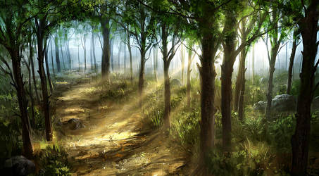 Woods by JoakimOlofsson