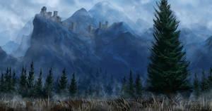 Mountain Fort by JoakimOlofsson