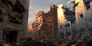 Abandoned City by JoakimOlofsson