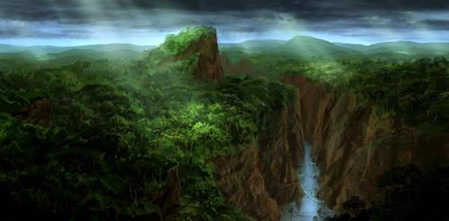 Rainforest Mountains by JoakimOlofsson