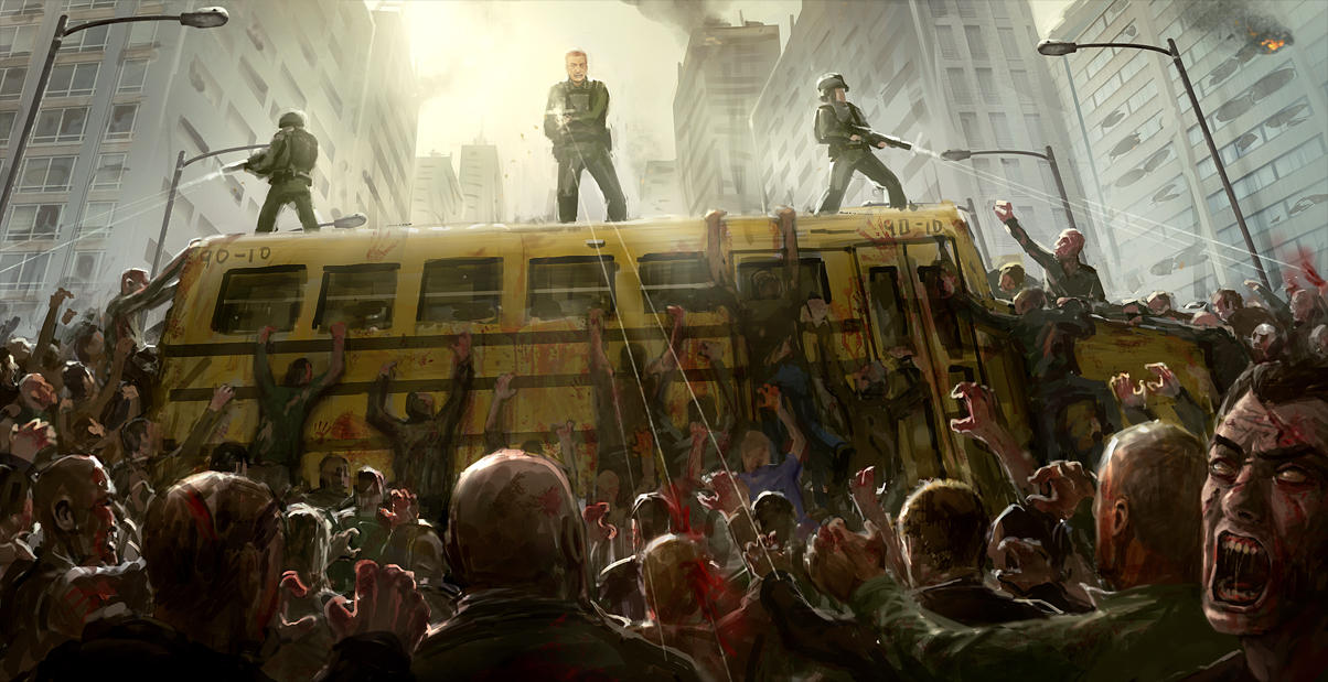 Zombie Horde by JoakimOlofsson