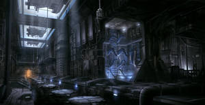 Sci-Fi Factory by JoakimOlofsson